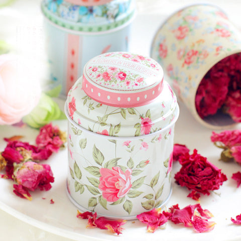 Tea Caddy Receive Box Candy Storage