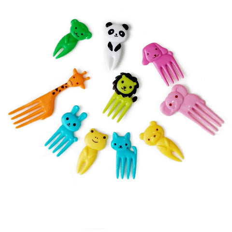 Mini Animal Cartoon Food Fork