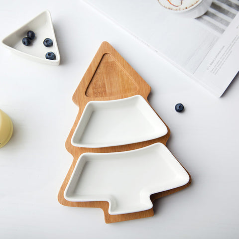 Christmas Tree Ceramic Dishes