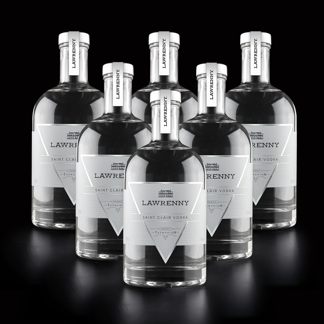 Lawrenny Saint Clair Vodka 500ml - Case 6