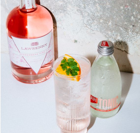 CAPI Pack with Meadowbank Pink Gin 700ml bottle