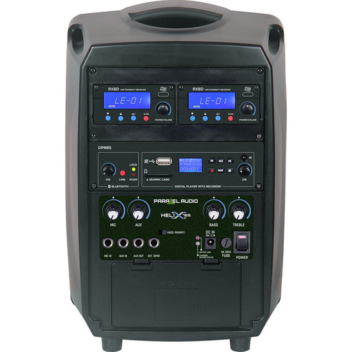 Helix 765 - 70 Watts Portable PA System with Handheld Wireless Mic