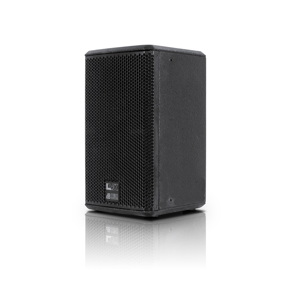 "2-Way Professional Powered Speaker 8"" Black"