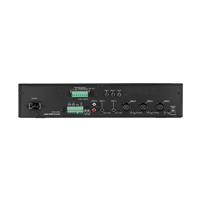 120W Public Address Mixer Amp