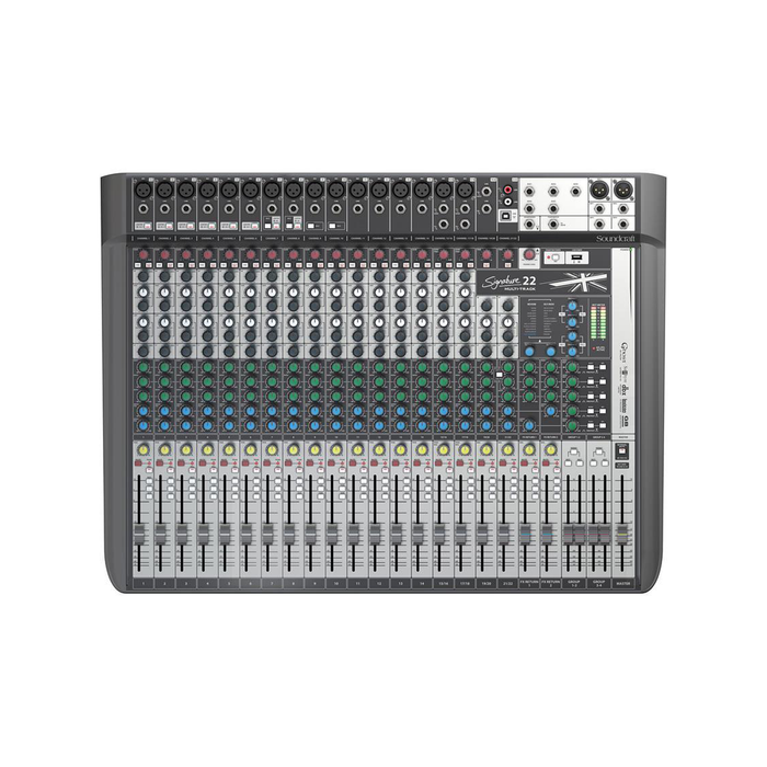 Signature 22 Channel Multitrack Mixer