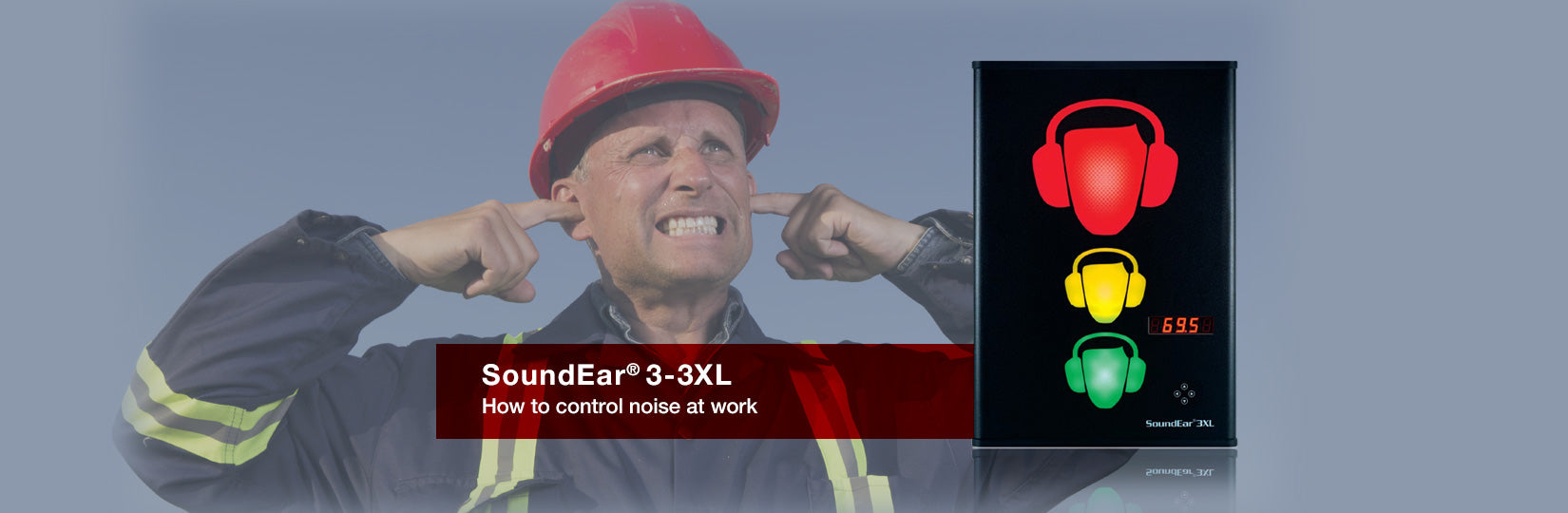 SoundEar 3 XL Industrial Noise Level Monitor & Recorder