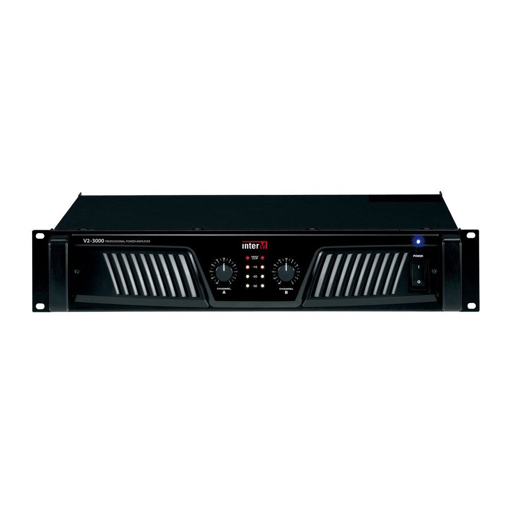 2 x 500W Professional Power Amplifier