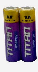 Rechargeable AA Batteries (x2)