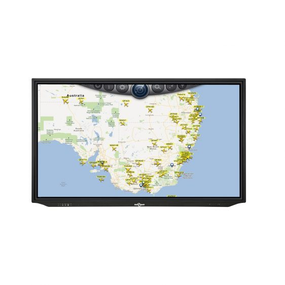 "LED Touch Screen Display 86"" Anti Glare"