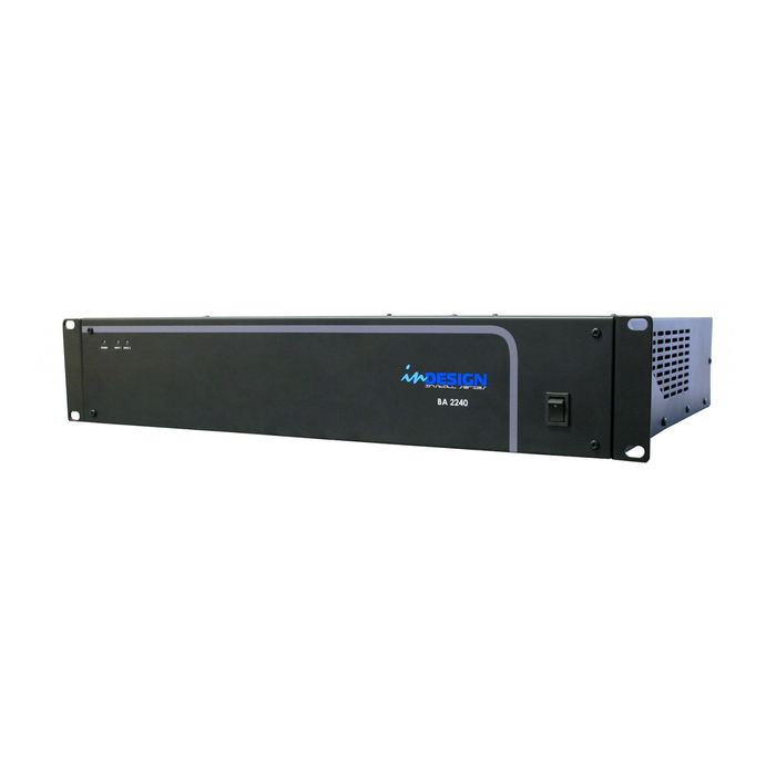 A 2 x 240W Power Amplifier from inDesign