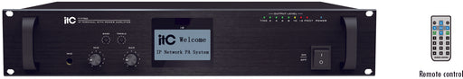 IP Network Audio Amplifier, 120 watt, rack mountable