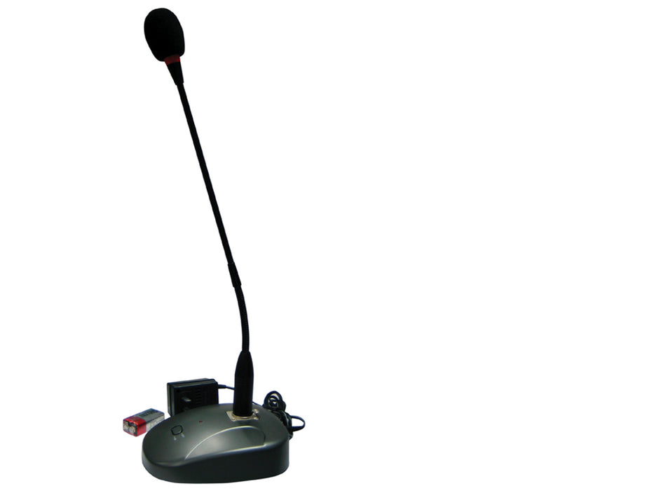 Paging PA Desk Microphone with built in chime
