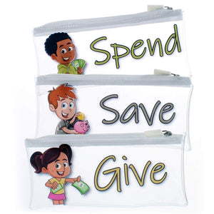 Give, Save, Spend - Envelope System for Kids