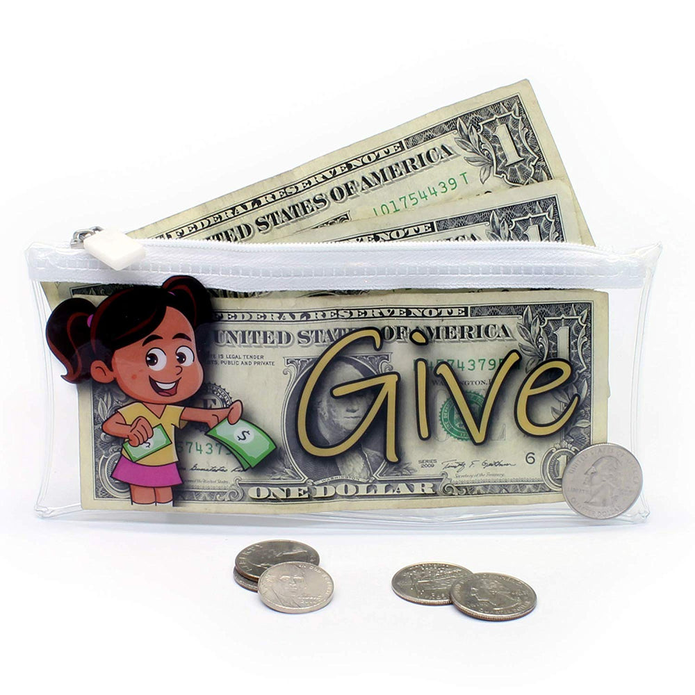 Give, Save, Spend Cash Envelopes for Kids