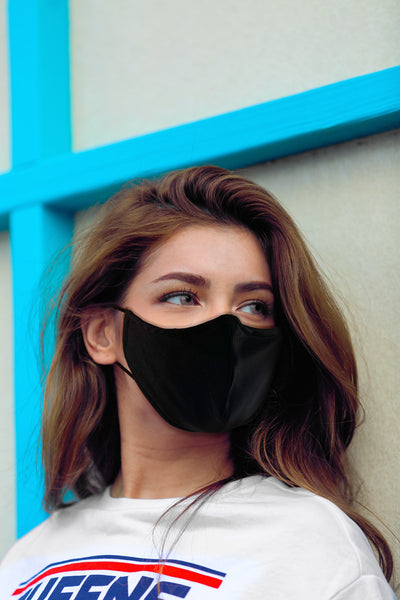 PRO - Moisture Wicking Fabric Face Mask + 5 Filters Handmade in USA