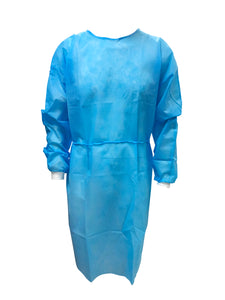 PPE Isolation Gown 40G Level 2 Waterproof 5 PACK