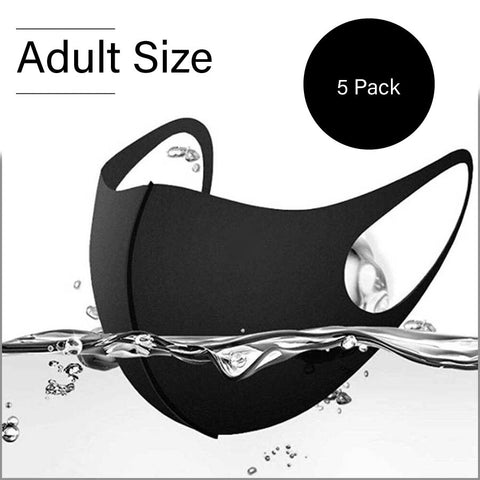 AIR - Adult Size Face-Mask w/ 3D Design 5 Pack - ProMasks