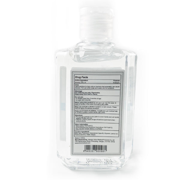 6 pack INTCO 4 oz-Hand Sanitizer + Aloe