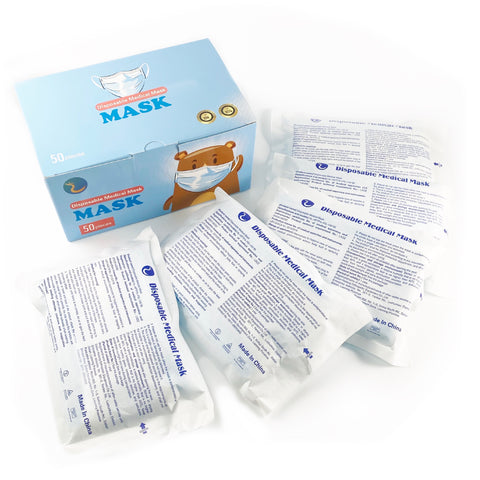 Kids Disposable Mask 50 CT