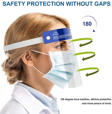 INTCO Disposable Face Shield, Box of 25