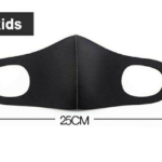 AIR - 2 Pieces Kids Face-Mask 3D Design Material: Air Layer Stretch Fabric - ProMasks