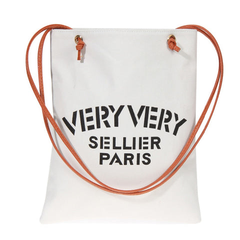 Very Very Sellier Paris Canvas Beach Bag