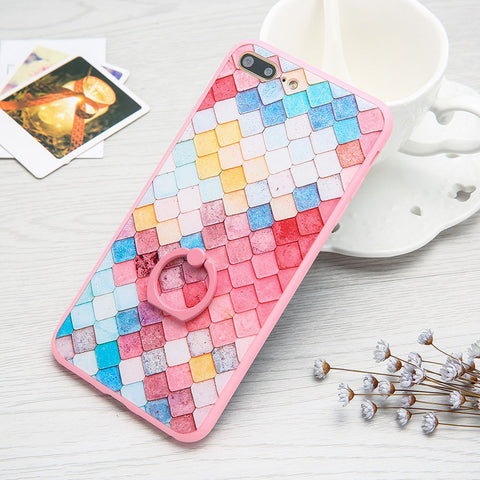 3D Colorful Mermaid Scales iPhone Case