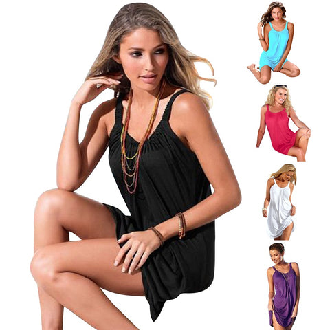 Women's Pareo Swimwear Cover Up Beach Dress