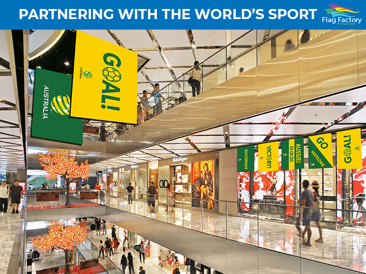 Flag Factory Partners with The World's Sport