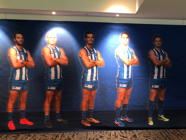 North Melbourne Football Club wall
