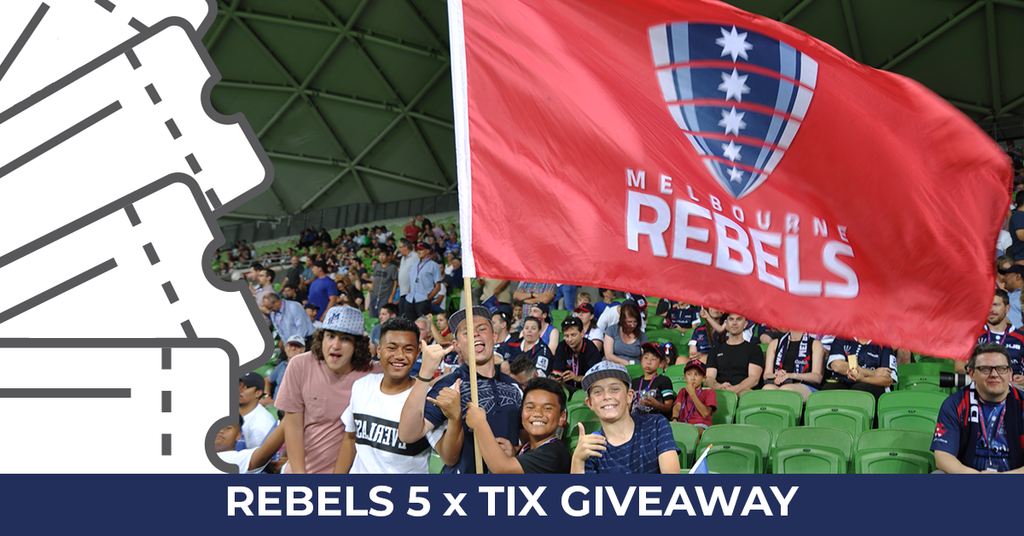 Melbourne Rebels Flag Factory Competition