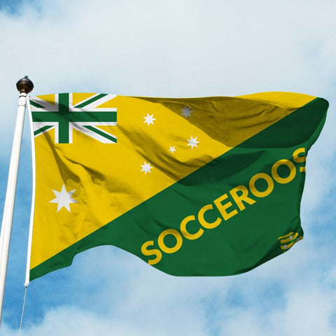 Socceroos Flagpole - Flag Factory
