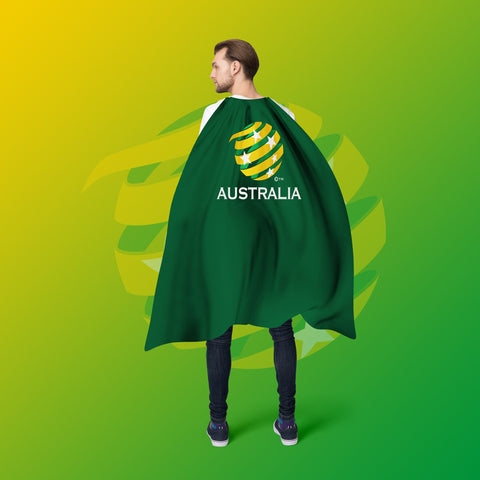 Socceroos Cape - Flag Factory