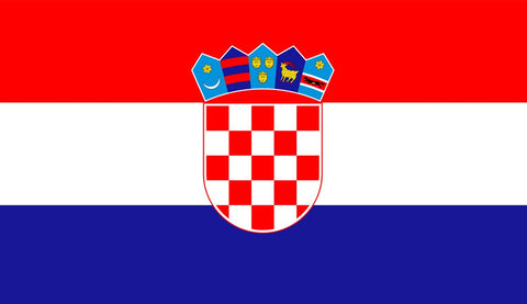 Clearance Croatia Flag (2400mm x 1200mm) - Flag Factory