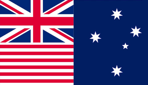 AUST FEDERAL 1900 Flag - Flag Factory