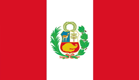 Clearance Peru Flag (2400mm x 1200mm) - Flag Factory
