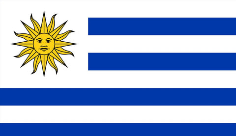 Clearance Uruguay Flag (1800mm x 900mm) - Flag Factory
