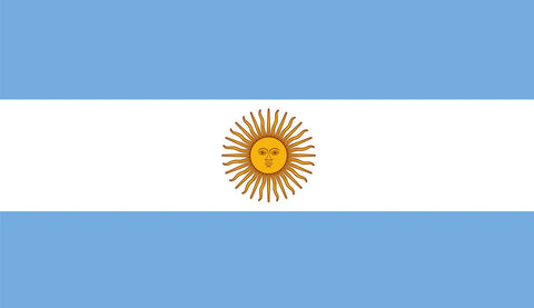 Clearance Argentina Flag (2400mm x 1200mm) - Flag Factory