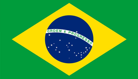 Clearance Brazil Flag (1800mm x 900mm) - Flag Factory