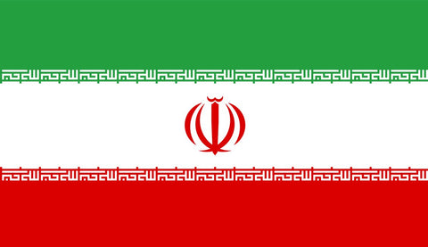 Clearance Iran Flag (2400mmx 1200mm)