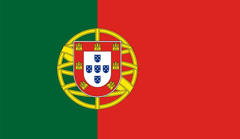 Clearance Portugal Flag (2400mm x 1200mm) - Flag Factory