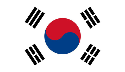 Clearance South Korea Flag (2400mm x 1200mm)