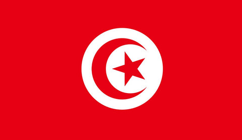 Clearance Tunisia Flag (2400mm x 1200mm)