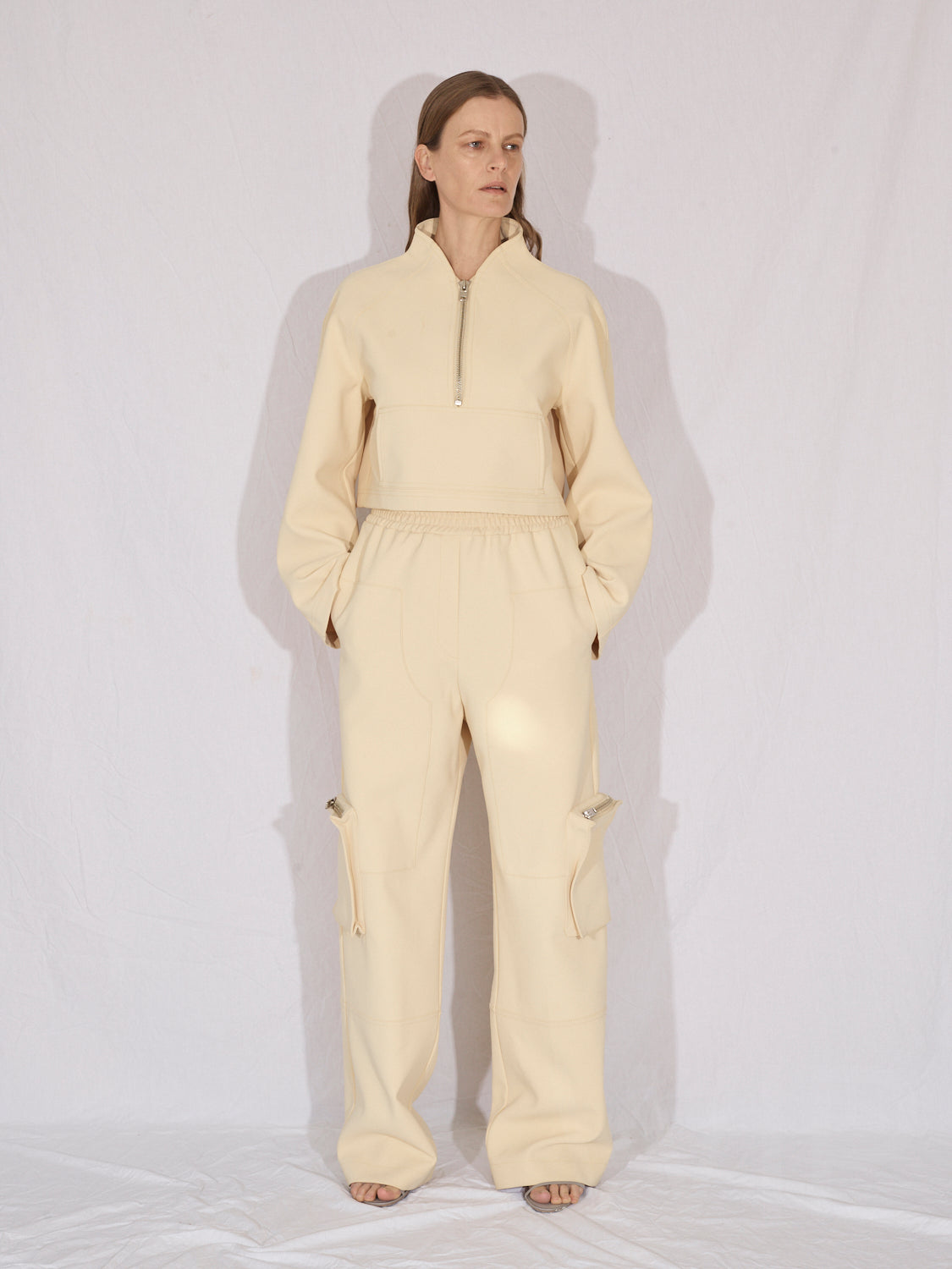 Cargo Trousers |  Post-It Yellow