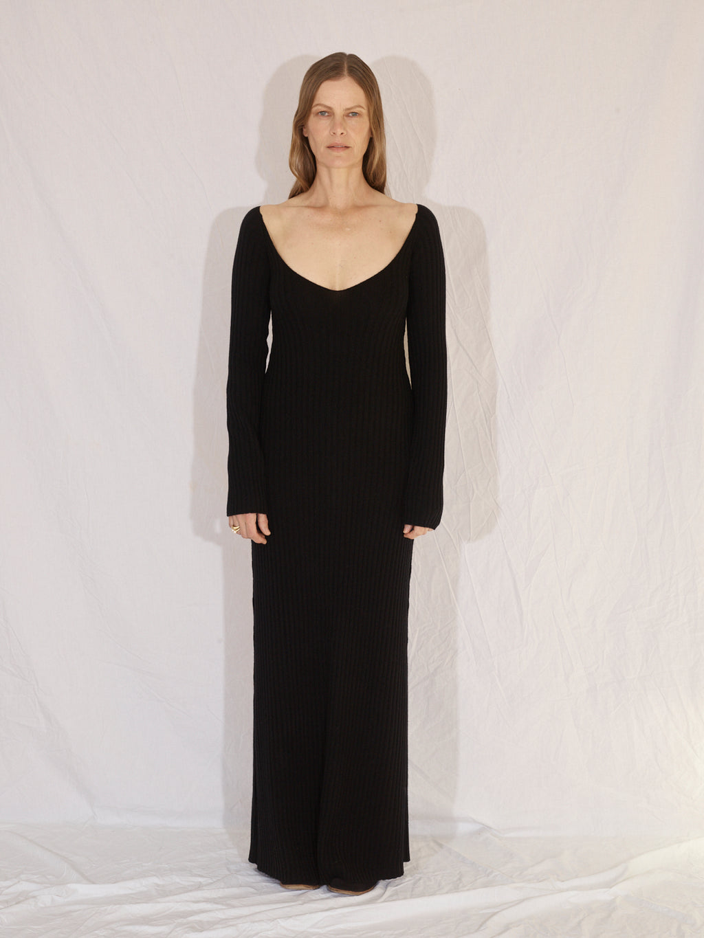 Cashmere Dress | Black