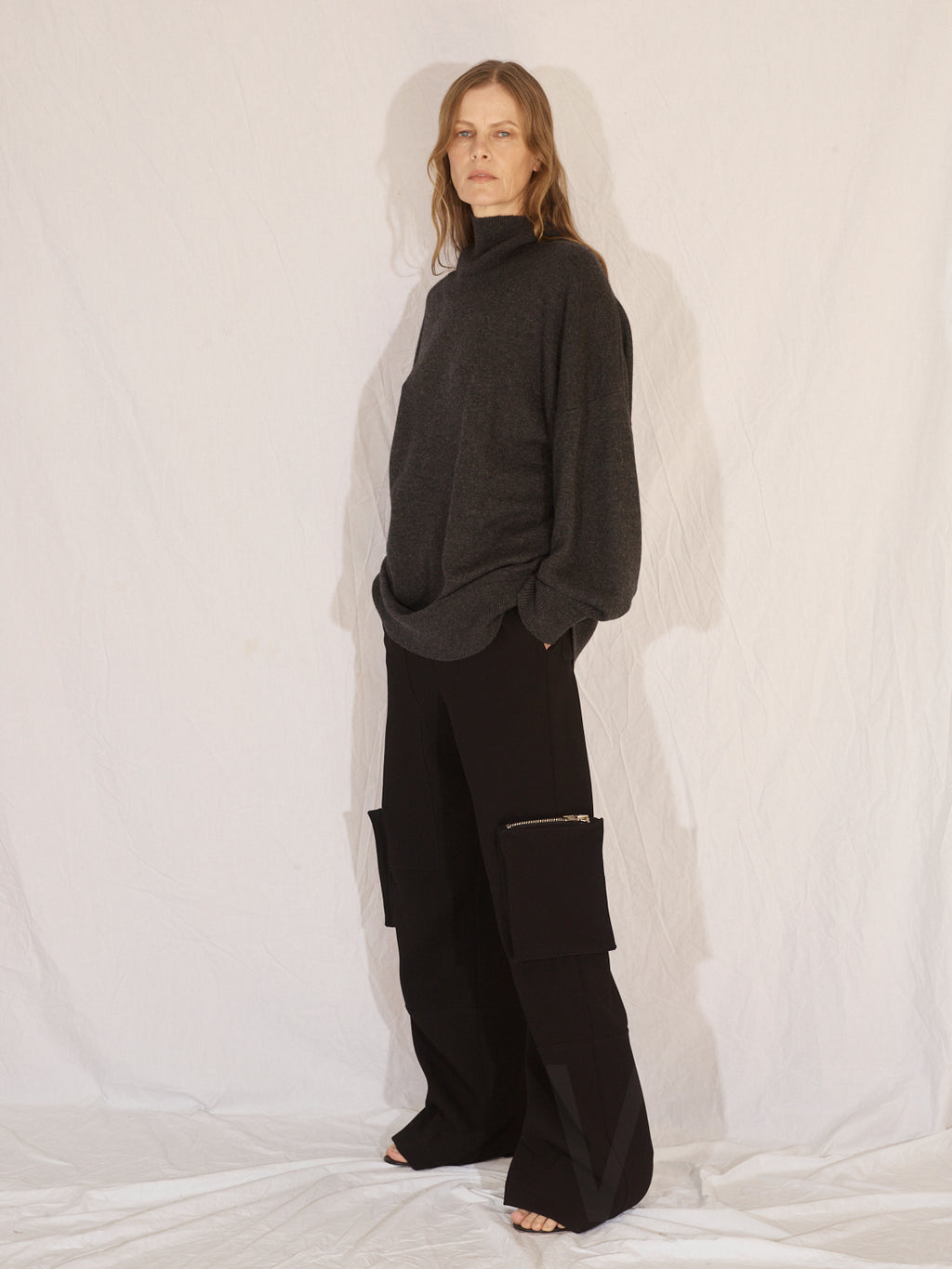 Cargo Trousers | Black