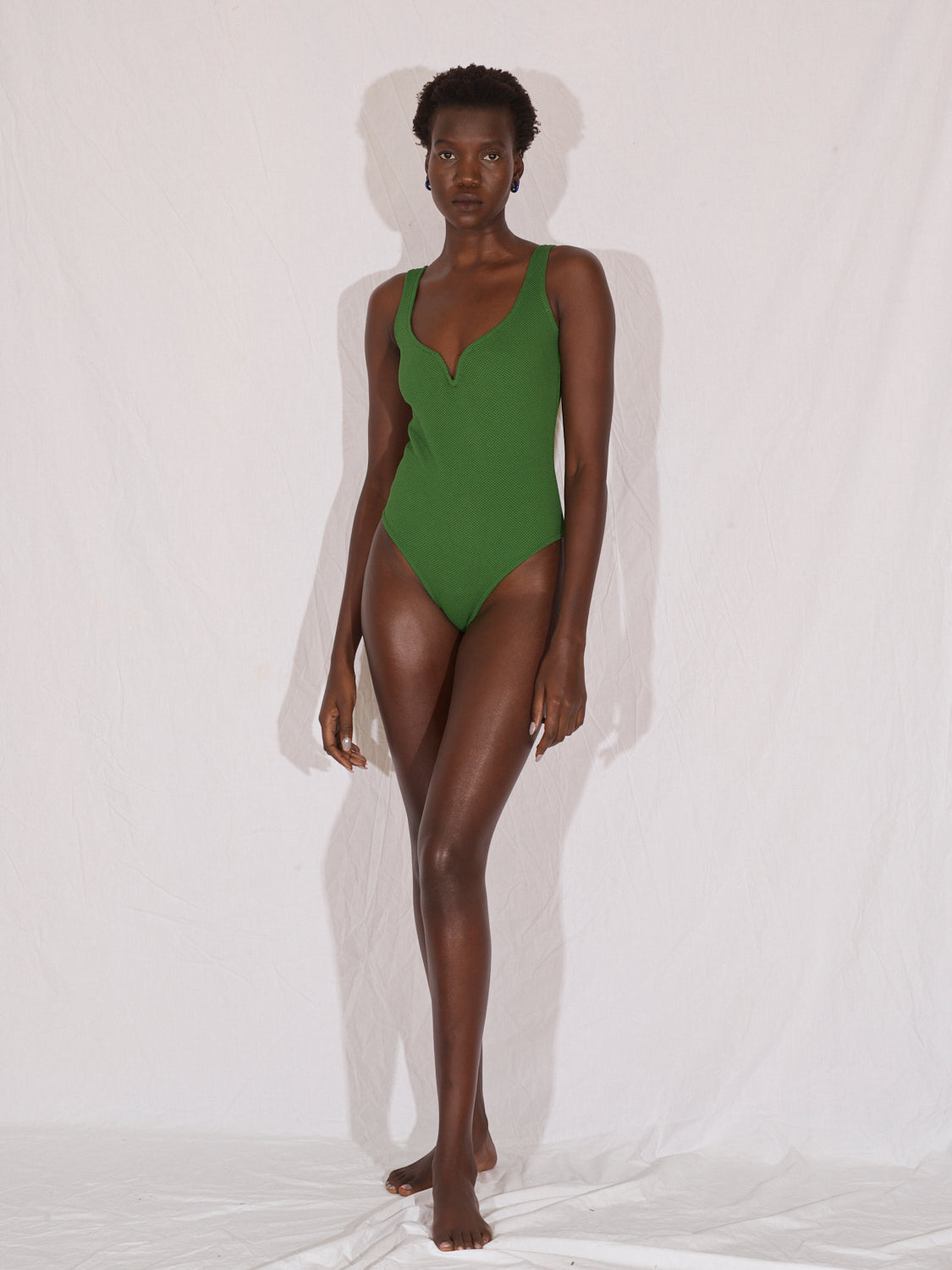 Heart Bodysuit | Court Green