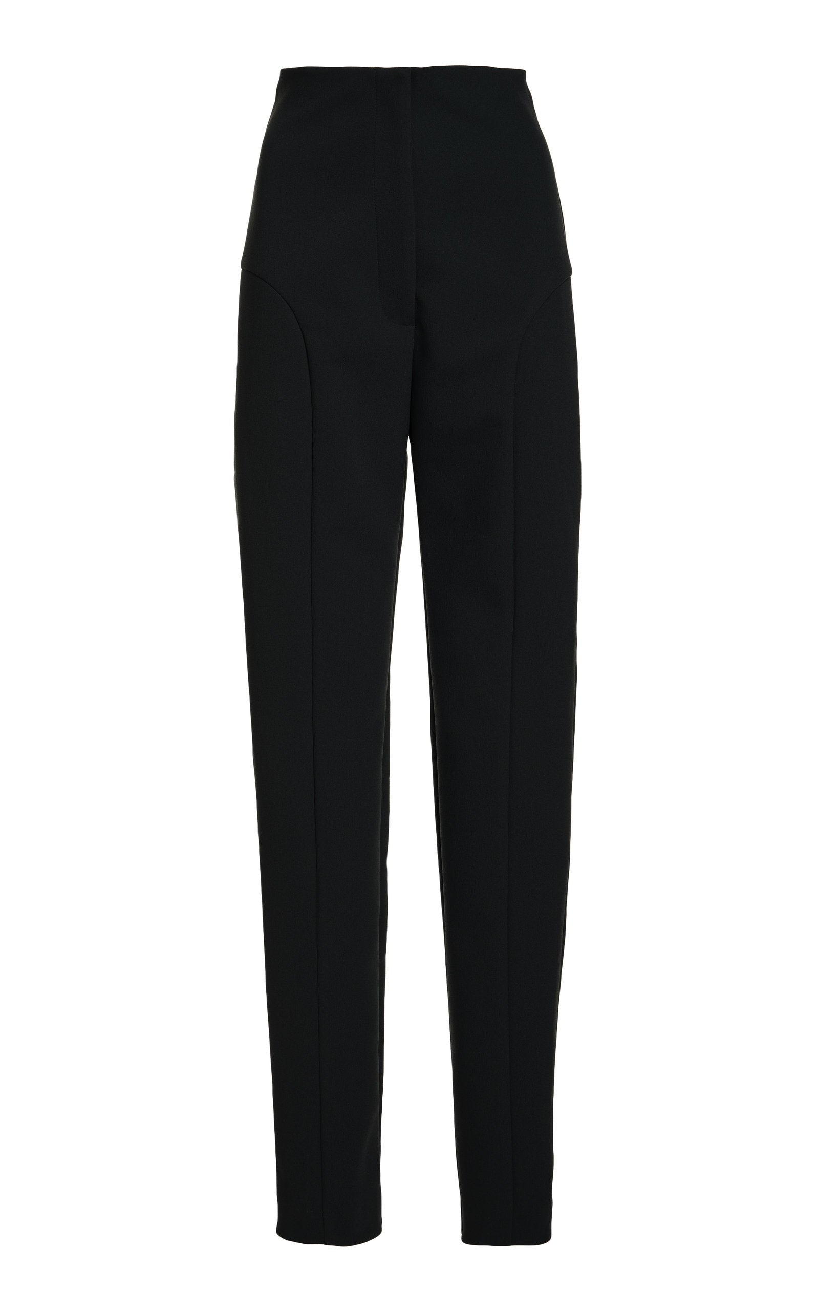 Stovepipe Trousers | Black