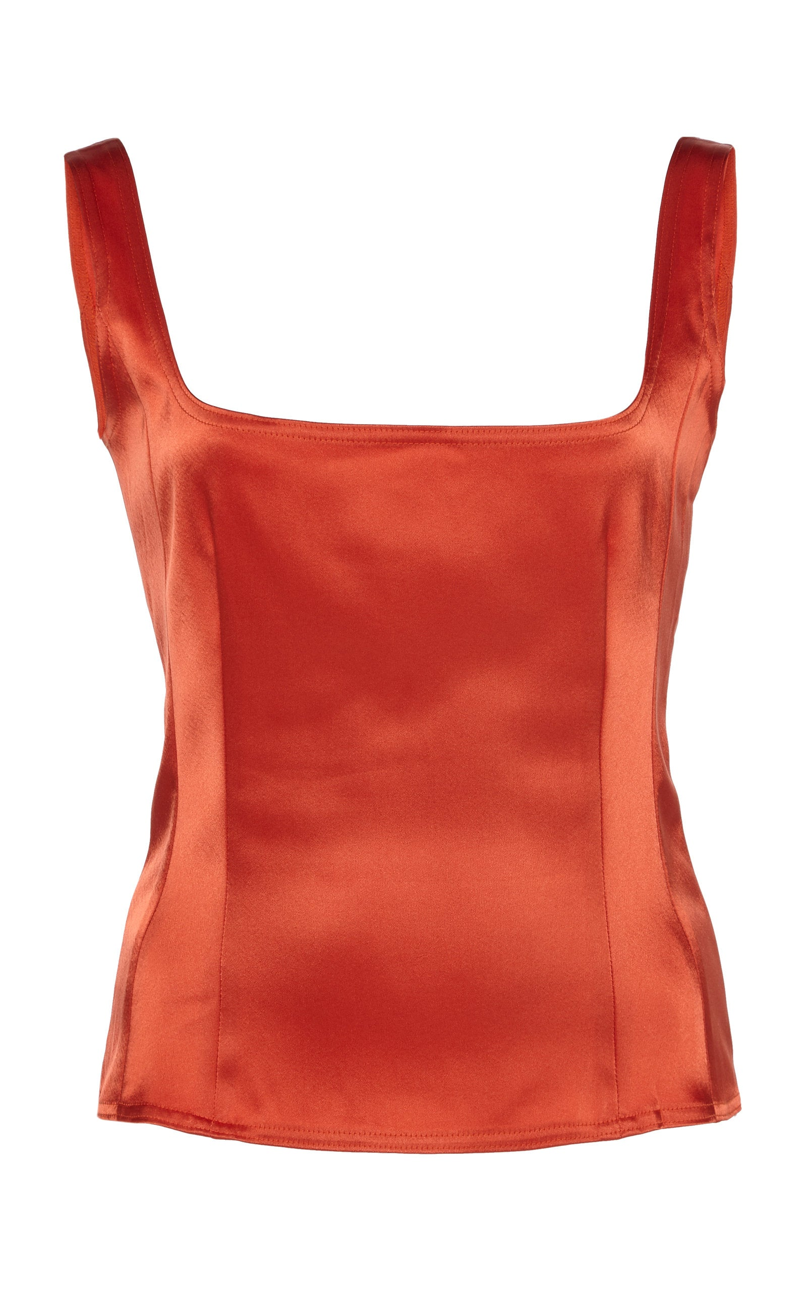 Simple Singlet | Burnt Sienna