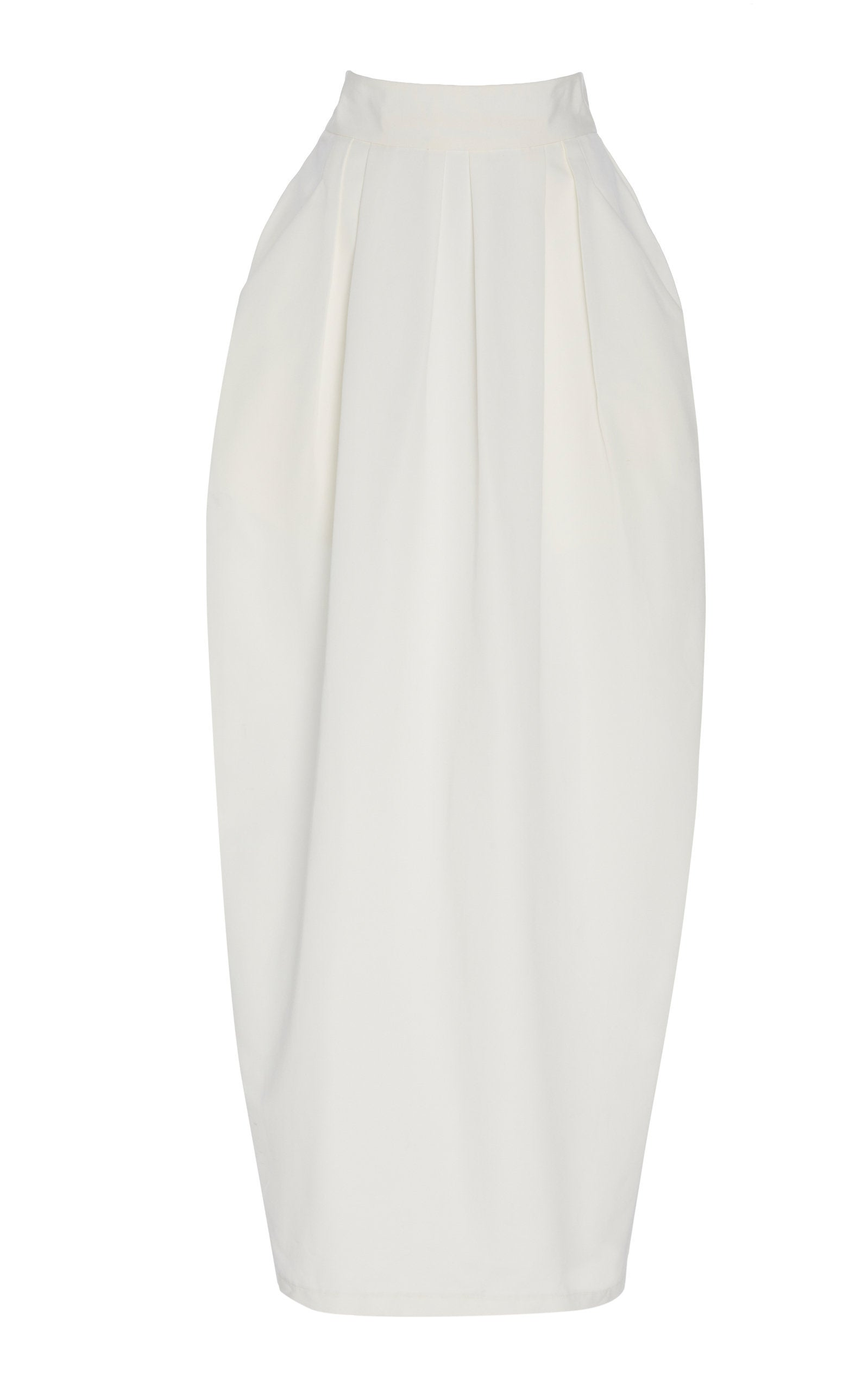 02 Tulip Skirt | White